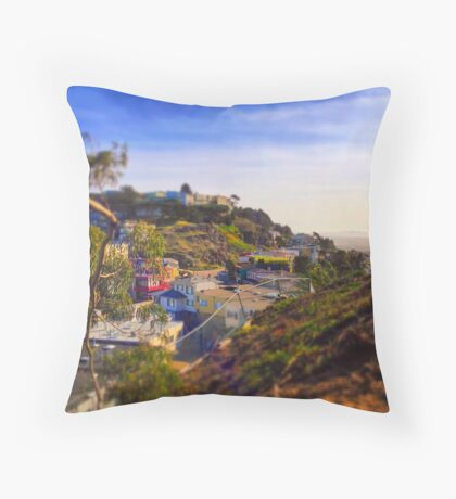 Real-Toy Neighborhood 2 Throw Pillow