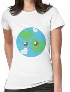 Precious Planet Womens Fitted T-Shirt