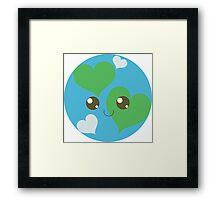 Precious Planet Framed Print