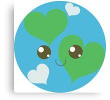 Precious Planet Canvas Print