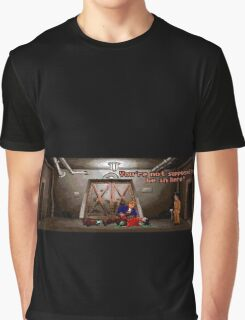 You're not supposed to be in here! (Monkey Island 2) Graphic T-Shirt