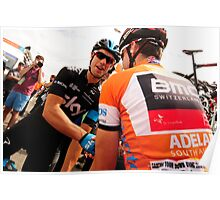 Cadel Evans and Richie Porte Poster
