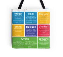 Programming Data Types (Coding Literacy) Tote Bag