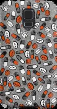 Pill Phone Case by jamesmachin
