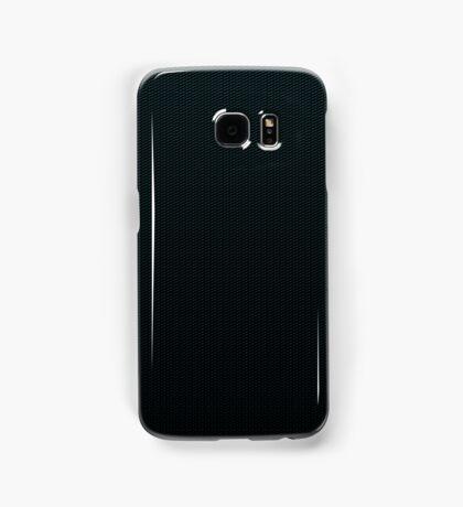 Carbon fibre blue pattern Samsung Galaxy Case/Skin