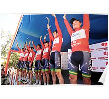Orica Green Edge Poster