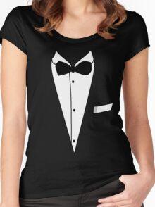 Tuxedo Women's Fitted Scoop T-Shirt