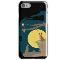 Silence Night by the Fox and the Eagle iPhone Case/Skin