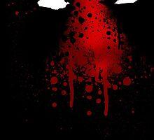 Deadpool splash art by MajoraHughes