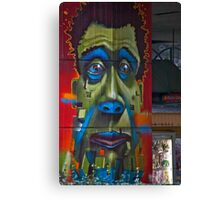 Green Around The Gills Canvas Print