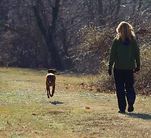Walking the Dog by Gilda Axelrod