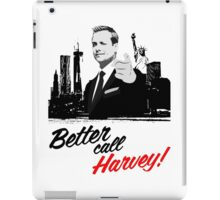 Better Call Harvey - Suits iPad Case/Skin