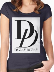 Duran Duran Band 1 Women's Fitted Scoop T-Shirt