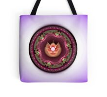 Wild Orchid and Pearl Tote Bag