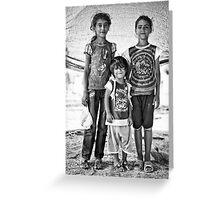 street children Greeting Card