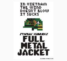 8-Bit Full Metal Jacket Kids Tee