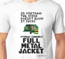 8-Bit Full Metal Jacket Unisex T-Shirt