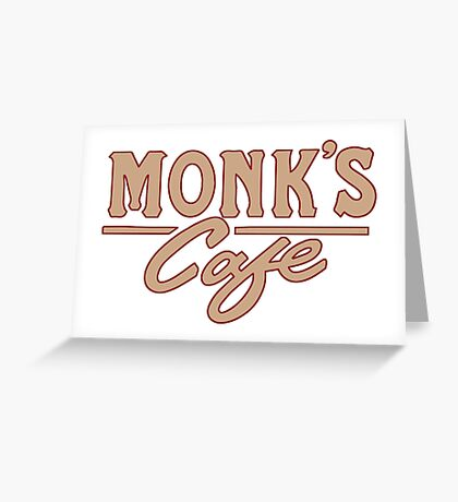 Monk's Cafe – Seinfeld, NY Greeting Card