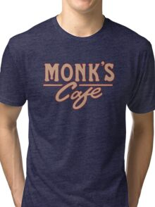 Monk's Cafe – Seinfeld, NY Tri-blend T-Shirt
