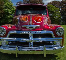 Chevrolet 3100 Pickup Truck 1954 by WillG