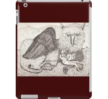 The Gryphon And His Friend pinkyjain iPad Case/Skin