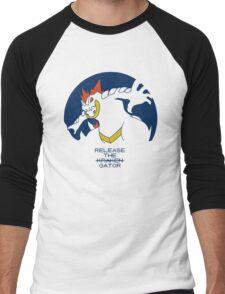 Release The Gator Men's Baseball ¾ T-Shirt
