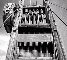 Gold Mine Technology in Black and White by Lee Craig