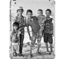street children iPad Case/Skin
