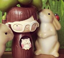 Momiji Doll - Tree - Bunny (Samsung) by Alpinoalves