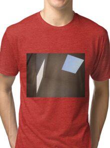 Blue Sky, White Light Tri-blend T-Shirt