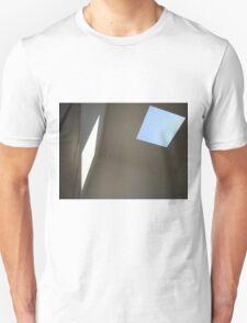 Blue Sky, White Light Unisex T-Shirt