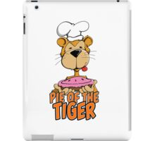 Pie of the Tiger iPad Case/Skin