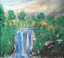 Waterfall 2-2014 by tusitalo
