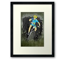 Bicycle Guy Framed Print