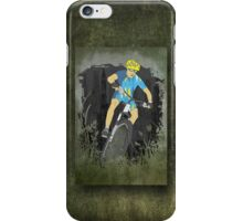Bicycle Guy iPhone Case/Skin