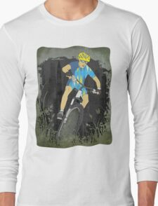 Bicycle Guy Long Sleeve T-Shirt