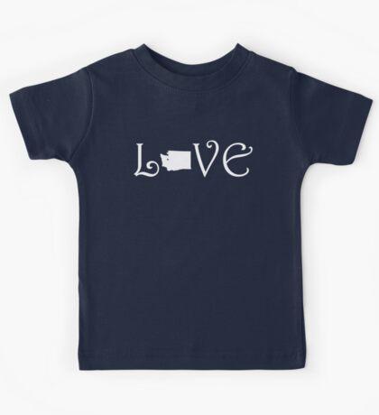 WASHINGTON LOVE Kids Tee