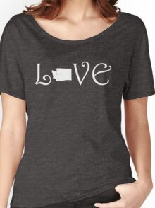 WASHINGTON LOVE Women's Relaxed Fit T-Shirt