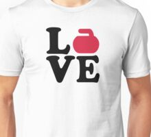Curling love Unisex T-Shirt