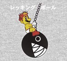 Mario Wrecking Ball  Kids Tee