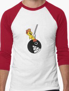 Mario Wrecking Ball  Men's Baseball ¾ T-Shirt