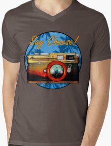 Say Cheese! Mens V-Neck T-Shirt