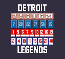 Detroit Legends - Retired Numbers! Unisex T-Shirt