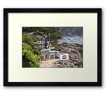 """"""" Location location location"""" Framed Print"""
