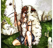 Princess Mononoke by Elyann