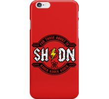 For Those About To Knock iPhone Case/Skin