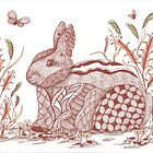 Bunny in the garden by collectincat