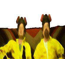 Walt And Jesse. by Blfc