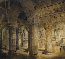Roslyn Chapel by Bridgeman Art Library