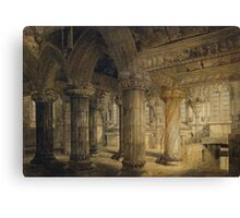 Roslyn Chapel Canvas Print